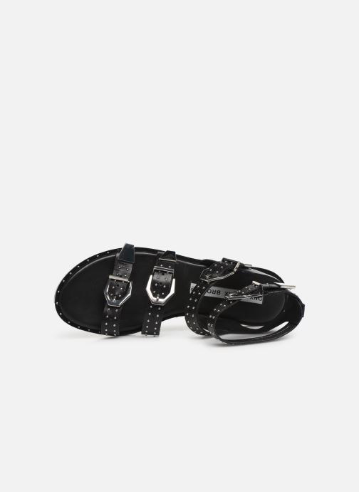 Sandales Nu Bronx 84735 Et pieds Black c35ARqjS4L