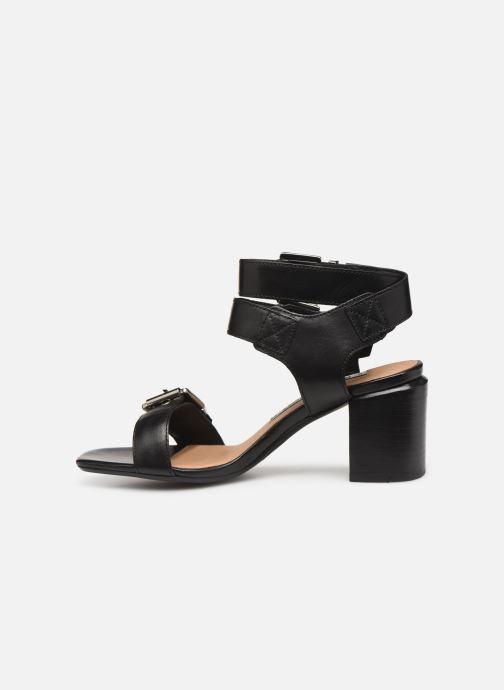 Sandales et nu-pieds Bronx 84759 Noir vue face