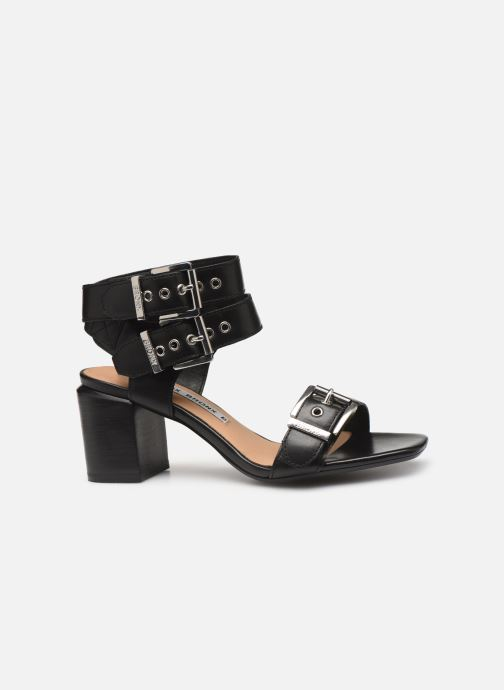 Sandales et nu-pieds Bronx 84759 Noir vue derrière