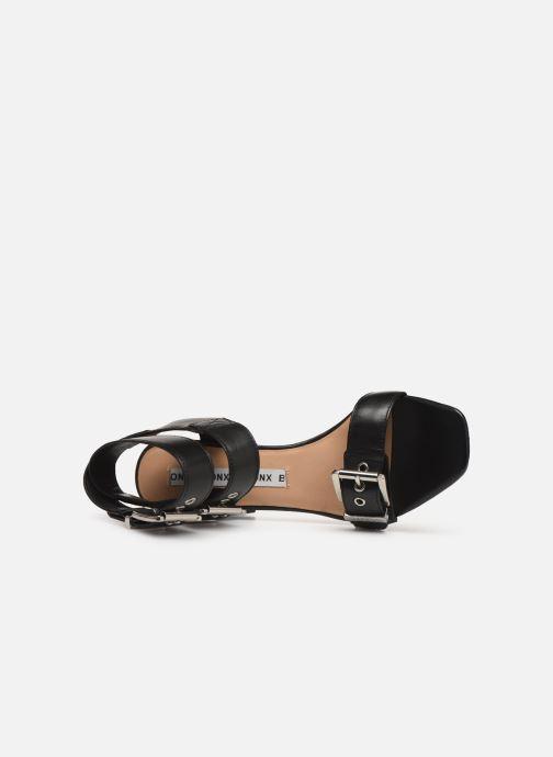 Sandales et nu-pieds Bronx 84759 Noir vue gauche