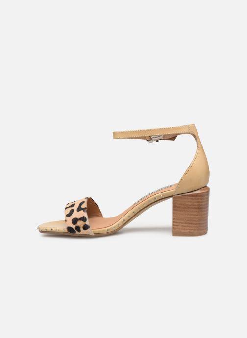Sandales et nu-pieds Bronx 84788 Beige vue face