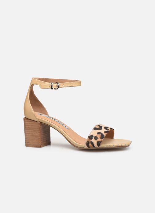 Sandales et nu-pieds Bronx 84788 Beige vue derrière