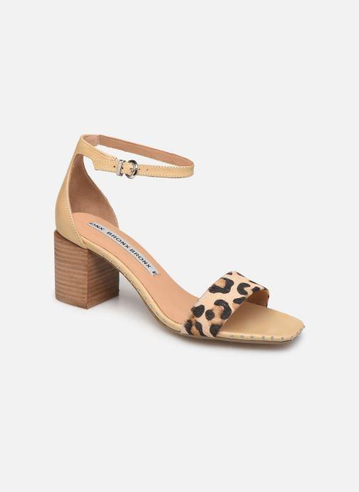 Sandales et nu-pieds Bronx 84788 Beige vue détail/paire