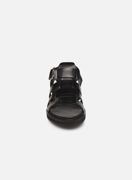 Sandales et nu-pieds Bronx 84810 Noir vue portées chaussures