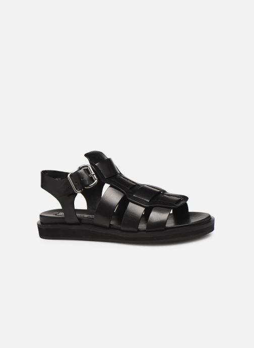 Sandales et nu-pieds Bronx 84810 Noir vue derrière