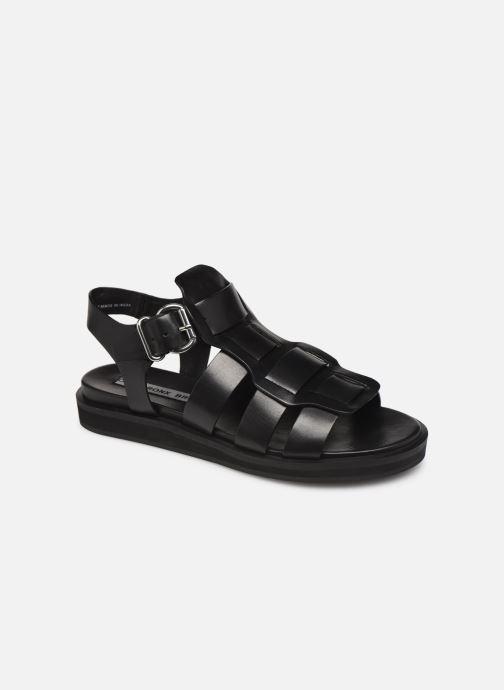 Sandales et nu-pieds Bronx 84810 Noir vue détail/paire
