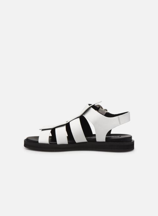 Sandales et nu-pieds Bronx 84810 Blanc vue face