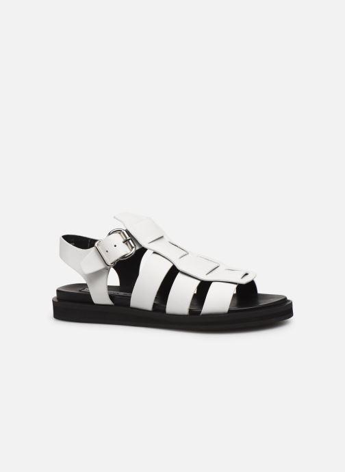 Sandales et nu-pieds Bronx 84810 Blanc vue derrière