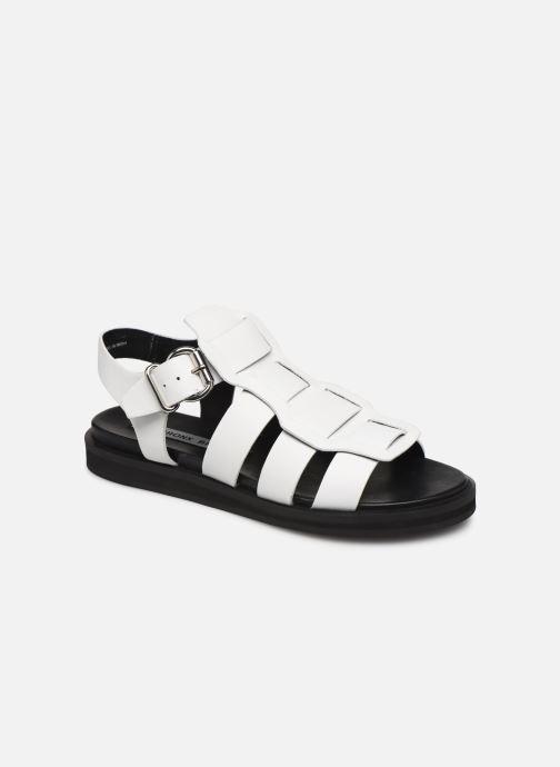 Sandales et nu-pieds Bronx 84810 Blanc vue détail/paire