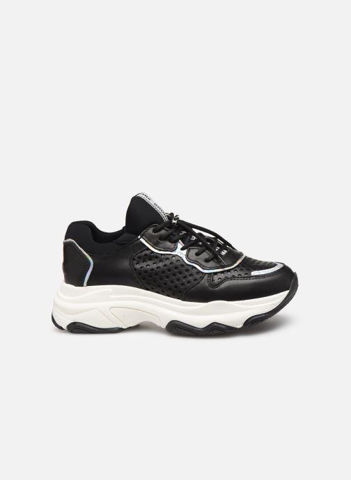 Sneakers Bronx 66167B Zwart achterkant