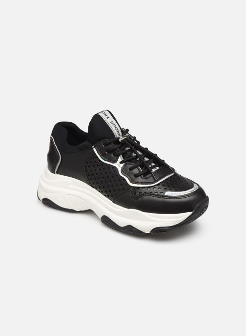 Sneakers Bronx 66167B Zwart detail