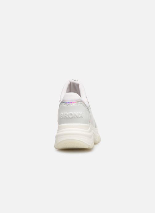 Sneaker Bronx 66167B weiß ansicht von rechts