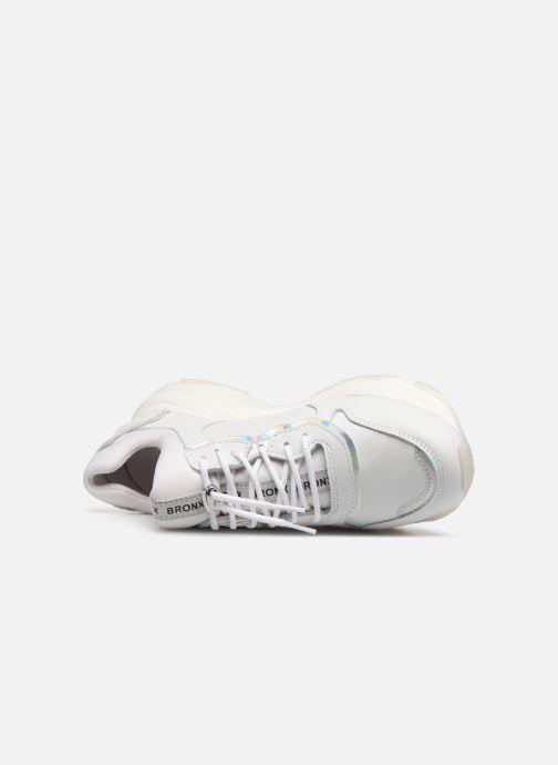 Sneaker Bronx 66167B weiß ansicht von links