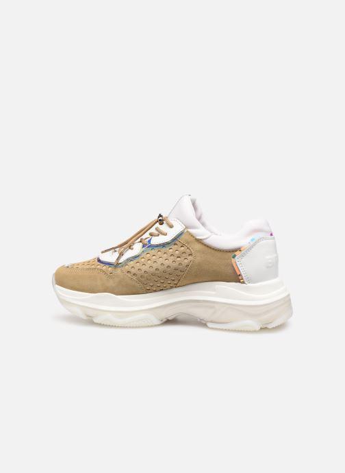 Sneakers Bronx 66167B Bruin voorkant