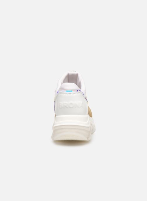 Sneakers Bronx 66167B Bruin rechts