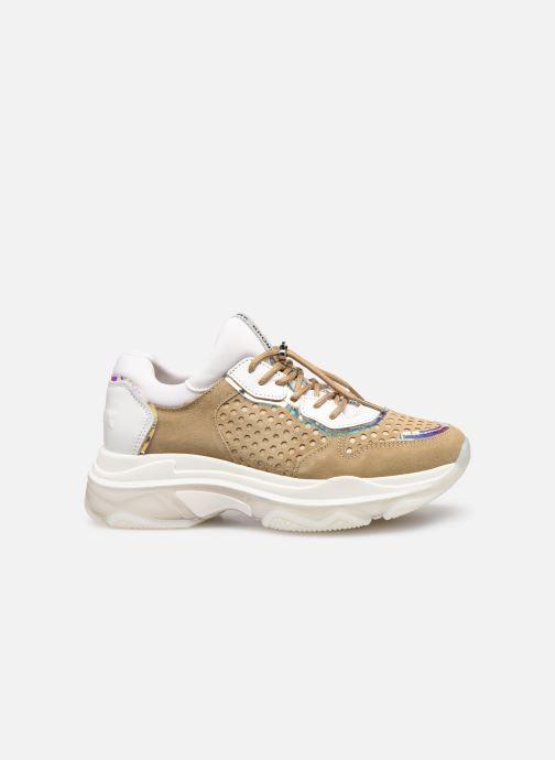 Sneakers Bronx 66167B Bruin achterkant