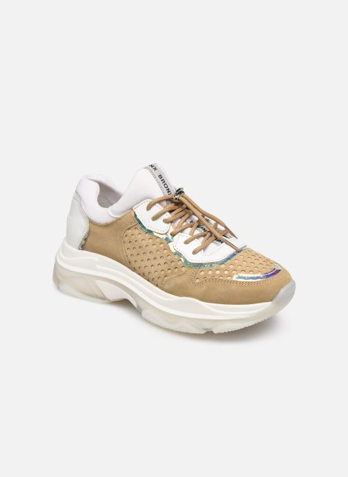 Sneakers Bronx 66167B Bruin detail