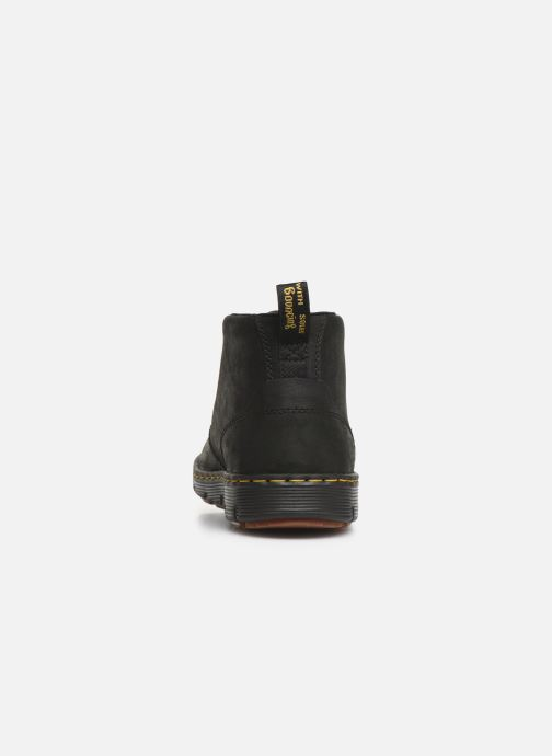 Lace-up shoes DR. Martens Backline Mid Black view from the right