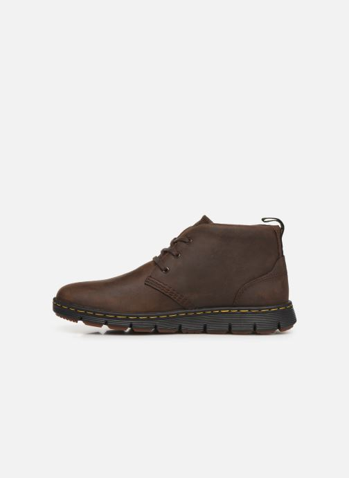 Lace-up shoes DR. Martens Backline Mid Brown front view