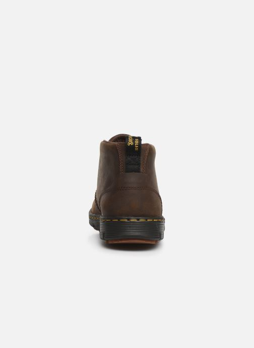 Lace-up shoes DR. Martens Backline Mid Brown view from the right