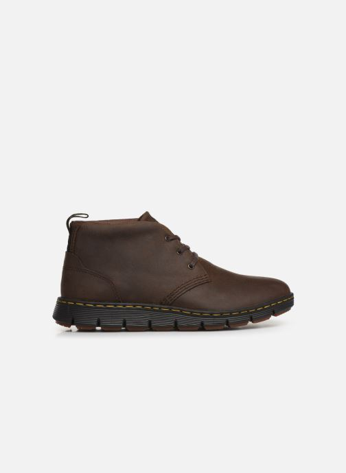 Lace-up shoes DR. Martens Backline Mid Brown back view