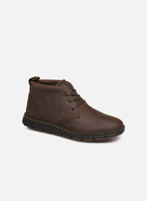 Lace-up shoes DR. Martens Backline Mid Brown detailed view/ Pair view