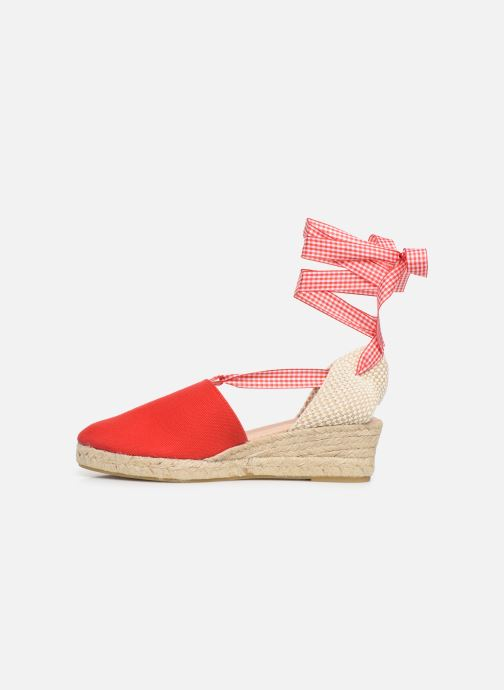 Espadrilles Georgia Rose Deltia Rouge vue face