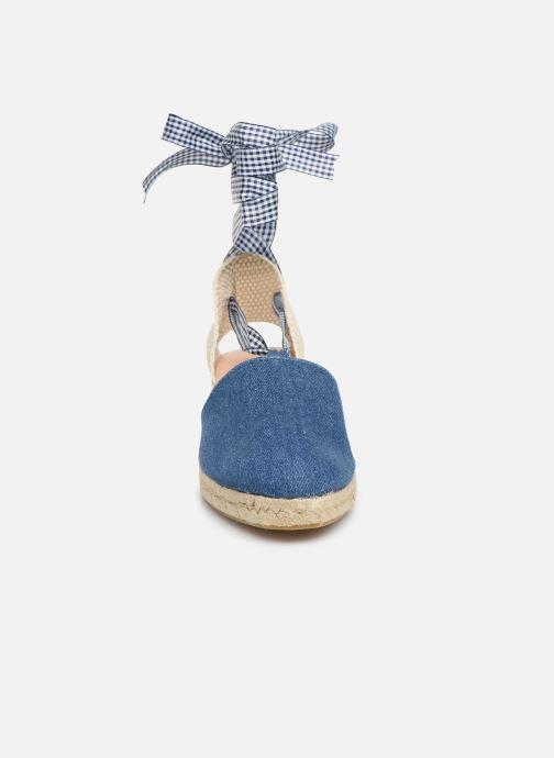 Espadrilles Georgia Rose Deltia Bleu vue portées chaussures