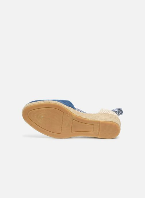 Espadrilles Georgia Rose Deltia Blue view from above