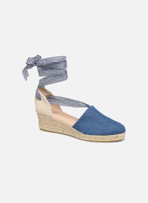 Espadrillos Georgia Rose Deltia Blå detaljeret billede af skoene
