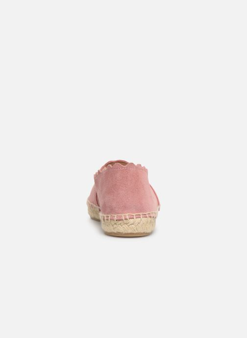 Espadrilles Georgia Rose Dehlia Pink view from the right