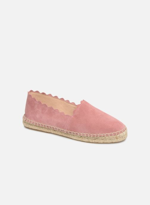 Espadrilles Georgia Rose Dehlia Pink detailed view/ Pair view