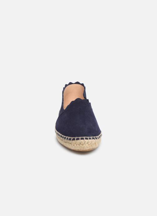 Espadrilles Georgia Rose Dehlia Bleu vue portées chaussures