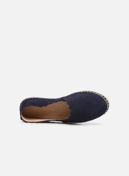 Espadrilles Georgia Rose Dehlia Blauw links