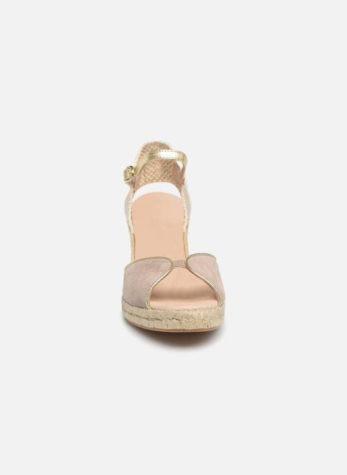 Espadrilles Georgia Rose Despadril Beige vue portées chaussures