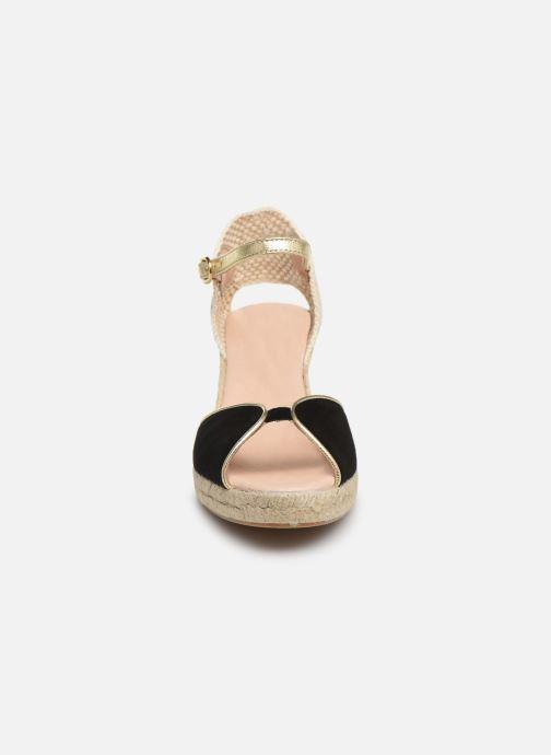 Espadrilles Georgia Rose Despadril Noir vue portées chaussures