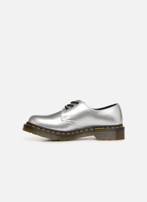 Chaussures à lacets Dr. Martens 1461 Vegan W Argent vue face