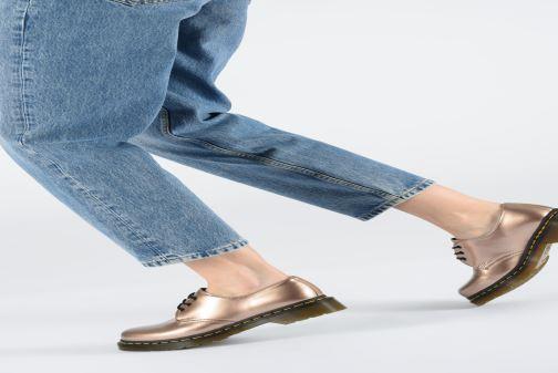 1461 Chaussures W Vegan Metallic Lacets DrMartens Gold Rose À dtsQhr