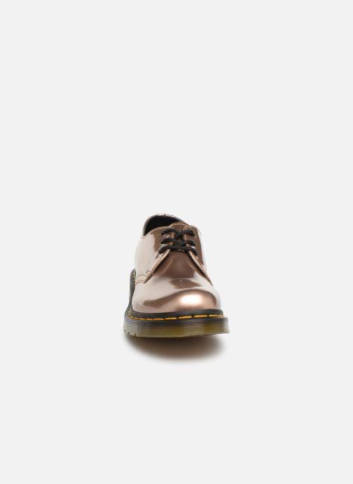 Chaussures à lacets Dr. Martens 1461 Vegan W Rose vue portées chaussures