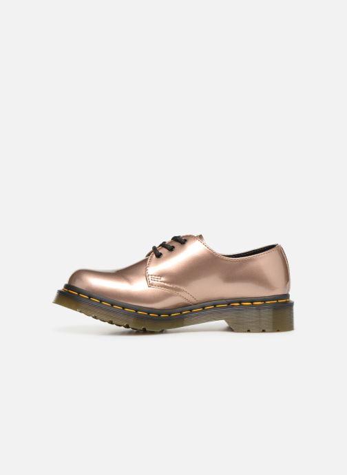 Chaussures à lacets Dr. Martens 1461 Vegan W Rose vue face