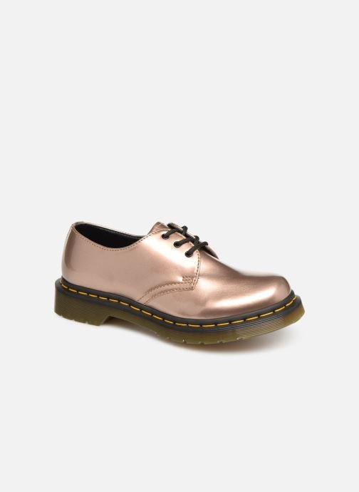 Lace-up shoes DR. Martens 1461 Vegan W Pink detailed view/ Pair view