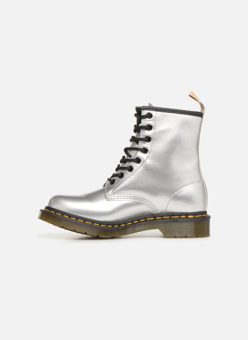 Stiefeletten & Boots Dr. Martens 1460 VEGAN W silber ansicht von vorne