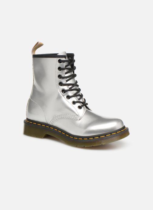 Bottines et boots Dr. Martens 1460 VEGAN W Argent vue détail/paire