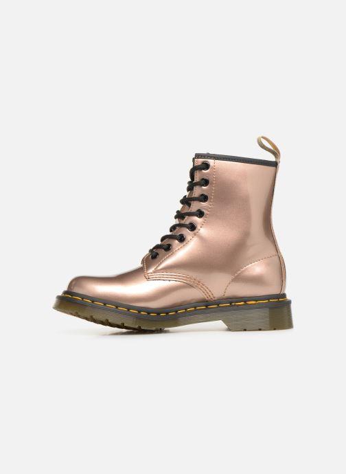 Boots en enkellaarsjes Dr. Martens 1460 VEGAN W Roze voorkant