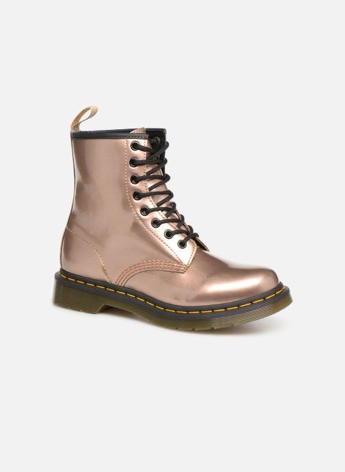 Boots en enkellaarsjes Dr. Martens 1460 VEGAN W Roze detail