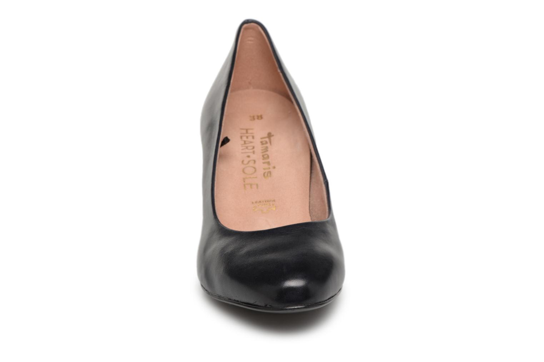 Escarpins Tamaris 22403 Bleu vue portées chaussures