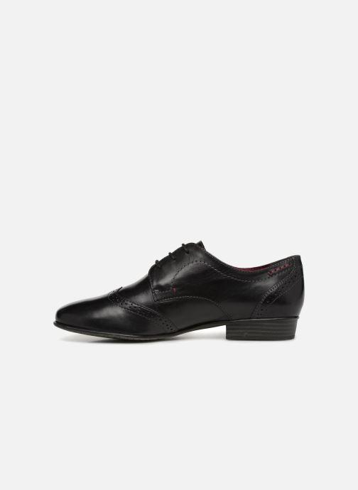Chaussures à lacets Tamaris 23217 Noir vue face