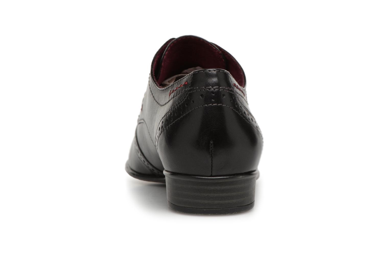 Chaussures à lacets Tamaris 23217 Noir vue droite