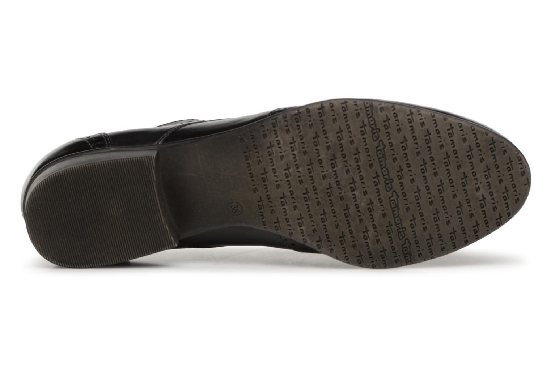 Chaussures à lacets Tamaris 23217 Noir vue haut