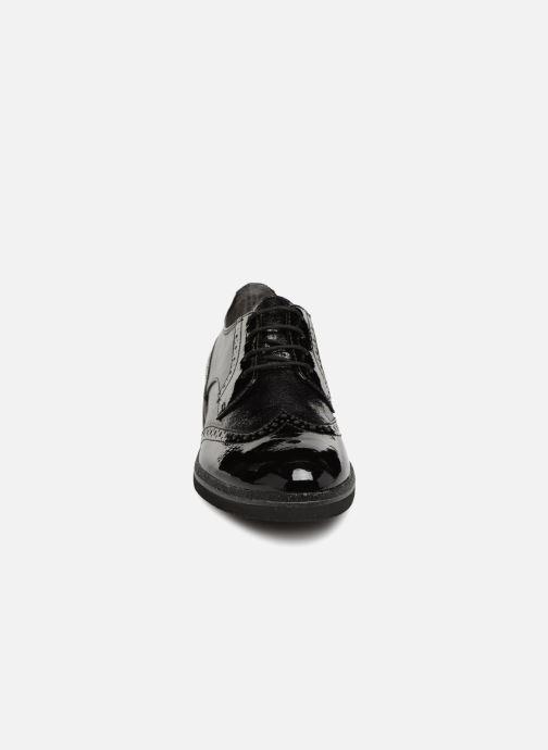 Schnürschuhe Tamaris 23711 schwarz schuhe getragen